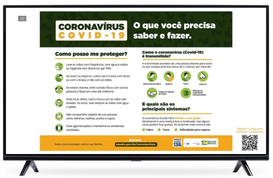 MetaX COVID-19 awareness campaign in Brazil highlights high effectiveness of connected TV advertising